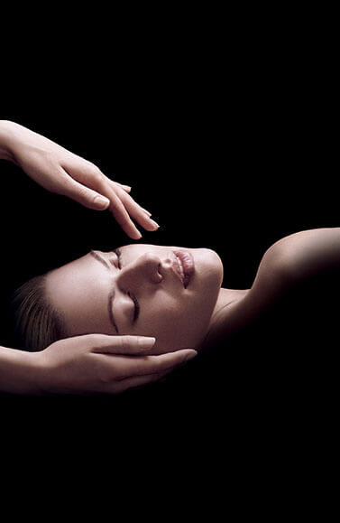 relaxing facial massages
